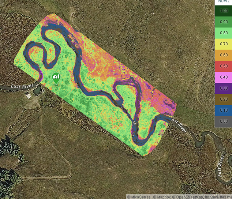 NDVI for East River, CO