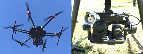 M600 Thermal and Visible Camera Setup
