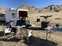 Field setup for magnetics UAS